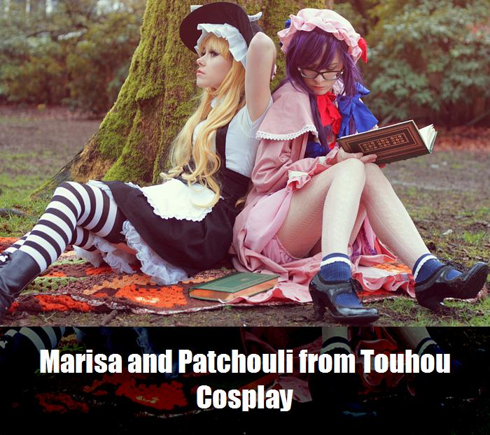 Marisa And Patchouli From Touhou Cosplay