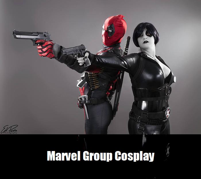 Marvel Group Cosplay 2