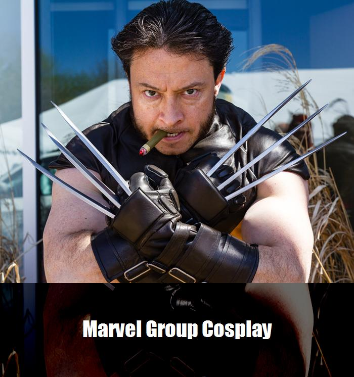 Marvel Group Cosplay 8