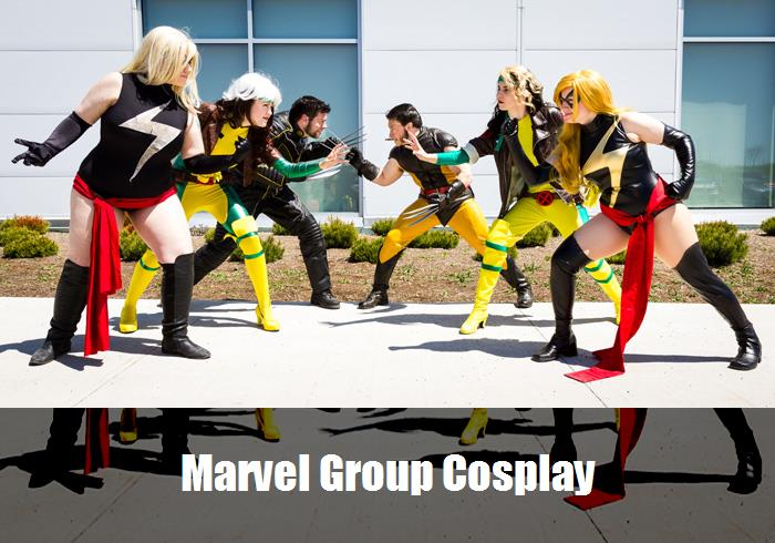 Marvel Group Cosplay 9