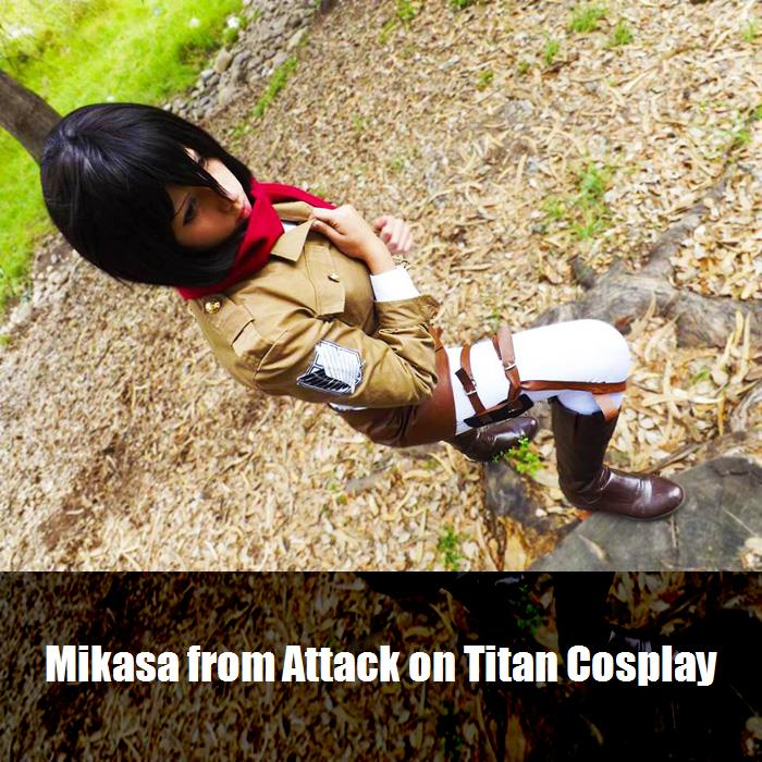 Mikasa From Attack On Titan Cosplay 3
