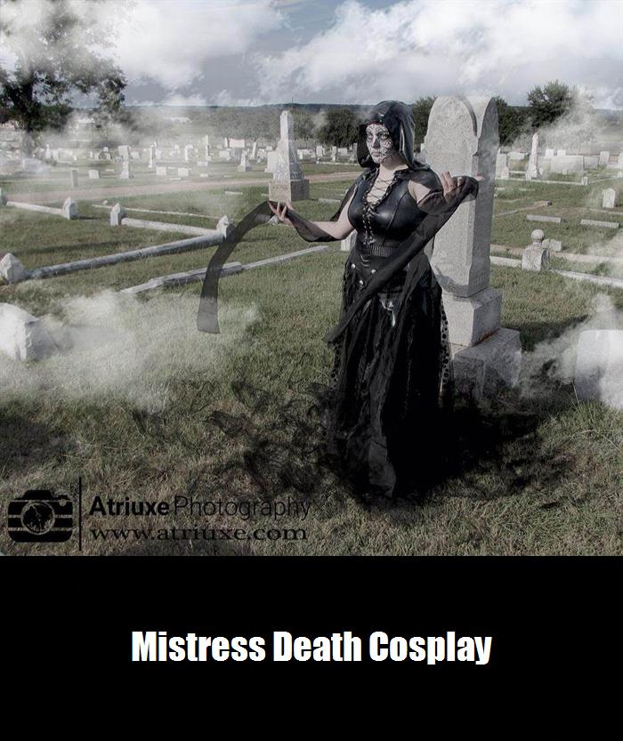 Mistress Death Cosplay 1