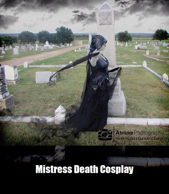 Mistress Death Cosplay 2