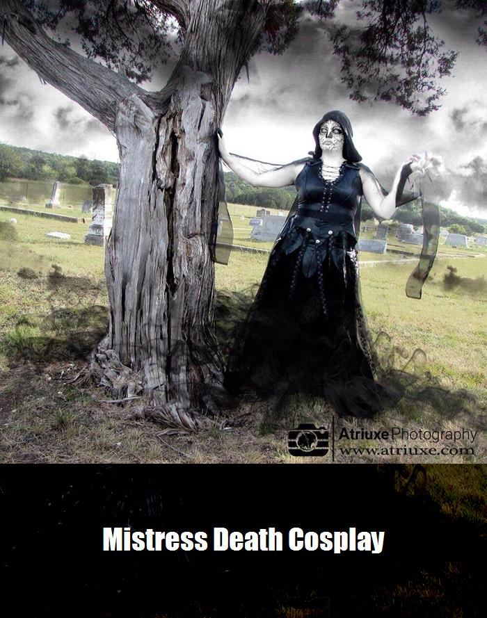 Mistress Death Cosplay 4