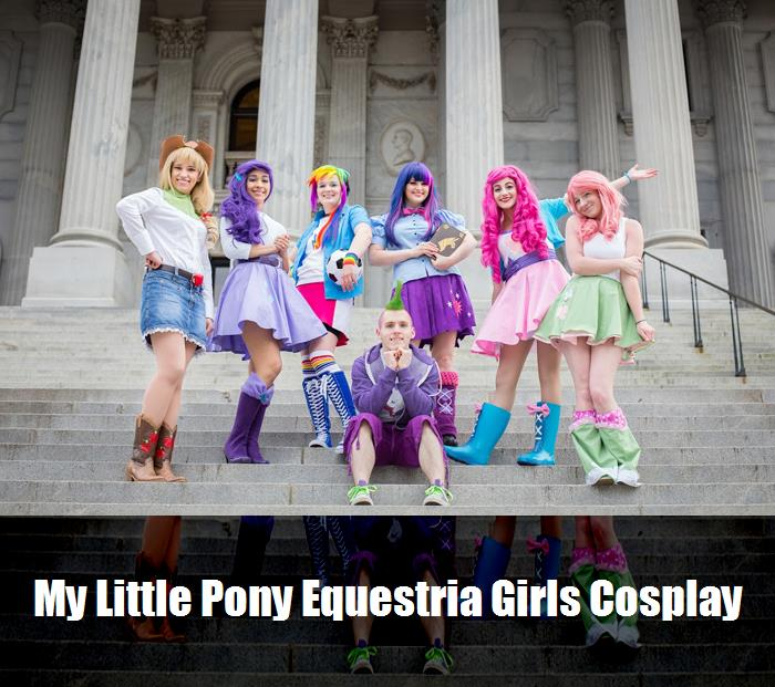 My Little Pony Equestria Girls Cosplay 1