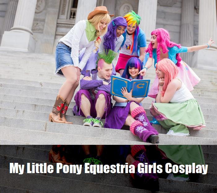My Little Pony Equestria Girls Cosplay 2
