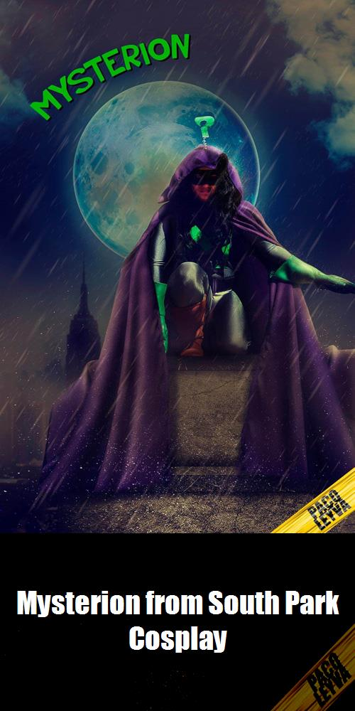 Mysterion From South Park Cosplay