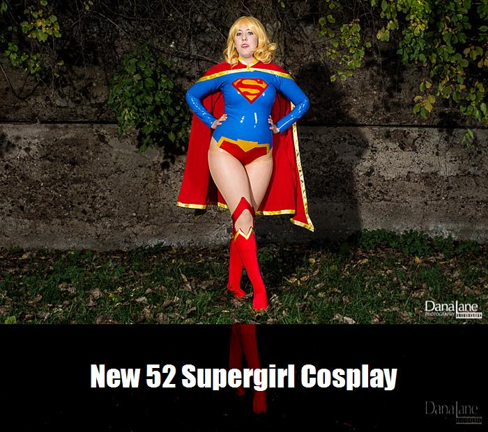 New 52 Supergirl Cosplay