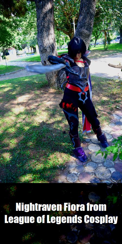 Nightraven Fiora From League Of Legends Cosplay 3