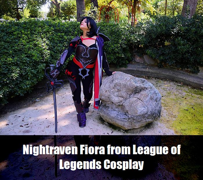 Nightraven Fiora From League Of Legends Cosplay 4