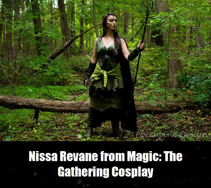 Nissa Revane From Magic The Gathering Cosplay