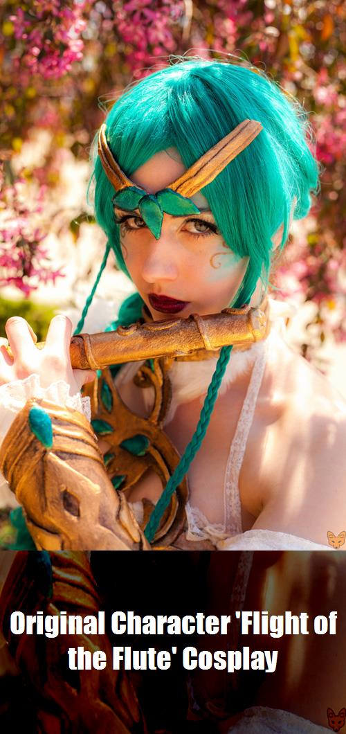 Original Character Flight Of The Flute Cosplay