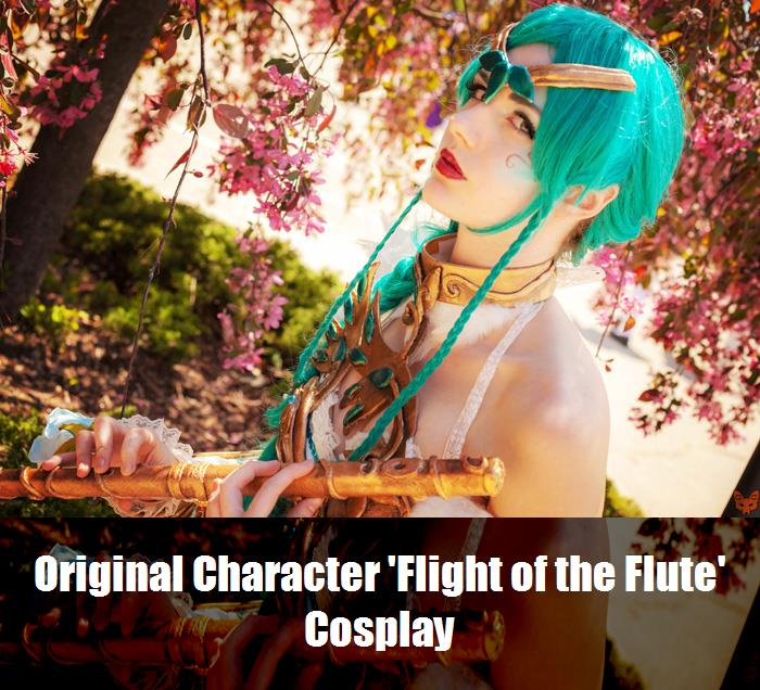 Original Character Flight Of The Flute Cosplay 2