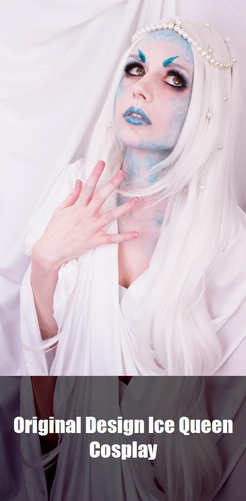 Original Design Ice Queen Cosplay 2