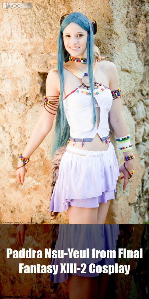 Paddra Nsu Yeul From Final Fantasy Xiii 2 Cosplay 1