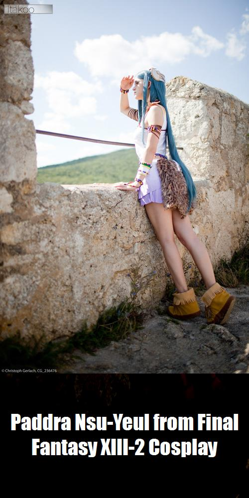 Paddra Nsu Yeul From Final Fantasy Xiii 2 Cosplay 2