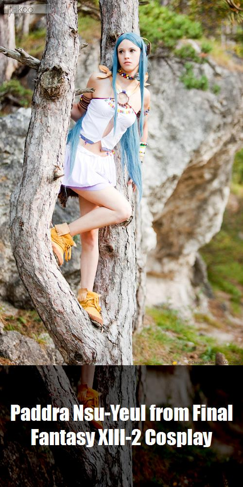 Paddra Nsu Yeul From Final Fantasy Xiii 2 Cosplay 5