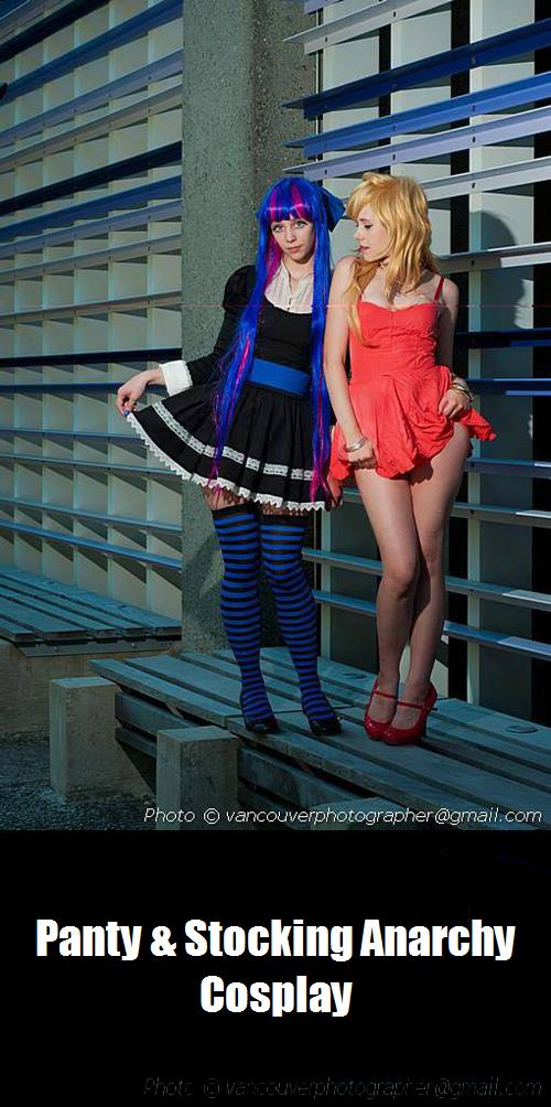 Panty Stocking Anarchy Cosplay