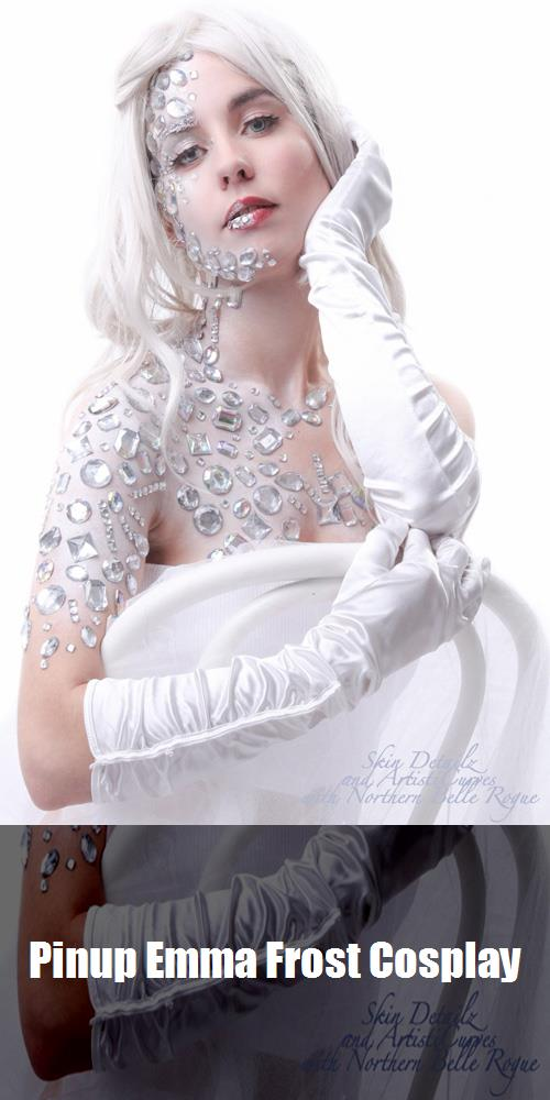 Pinup Emma Frost Cosplay