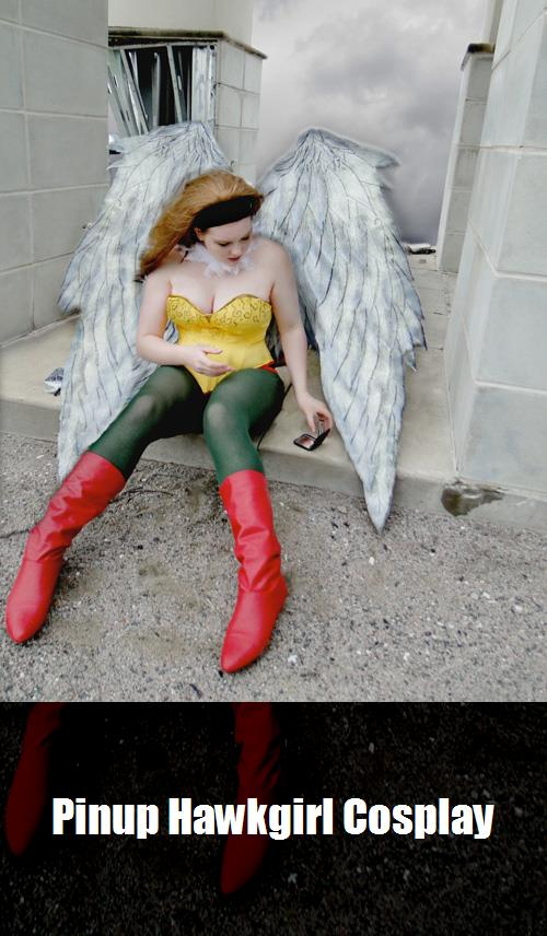 Pinup Hawkgirl Cosplay 2