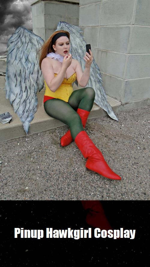 Pinup Hawkgirl Cosplay 3