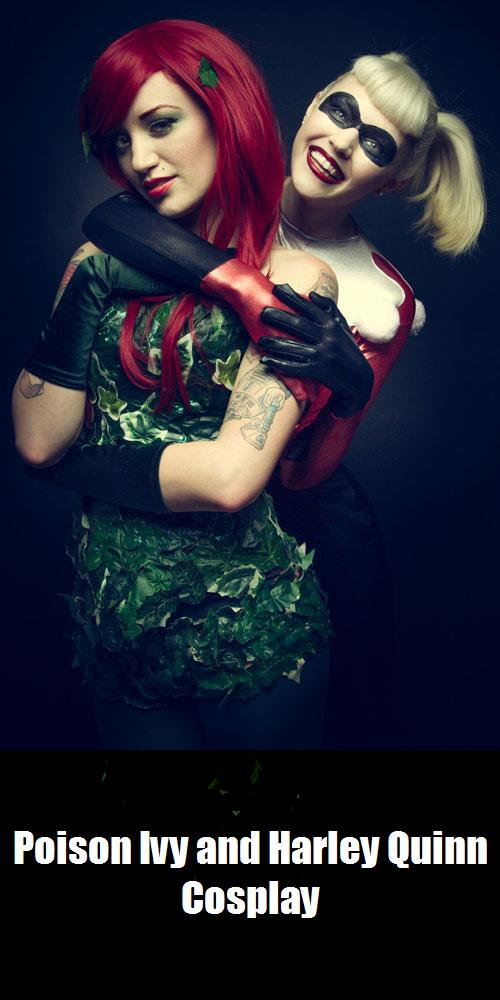 Poison Ivy And Harley Quinn Cosplay 2