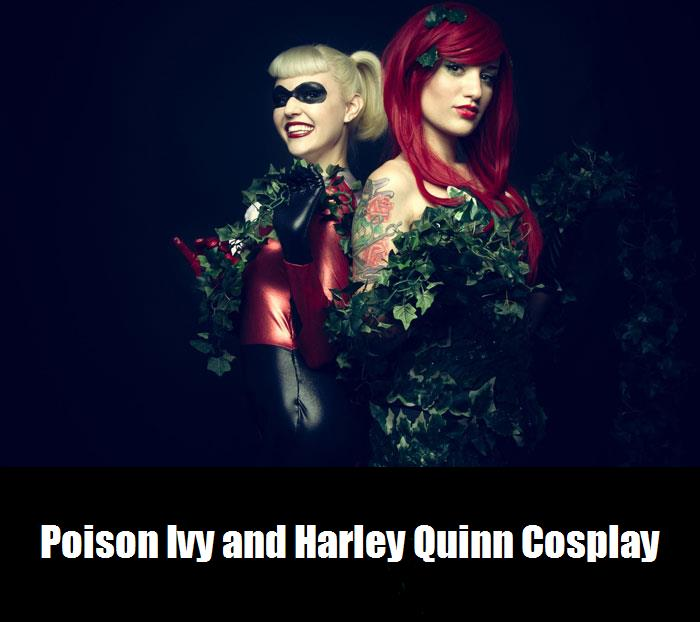 Poison Ivy And Harley Quinn Cosplay 9