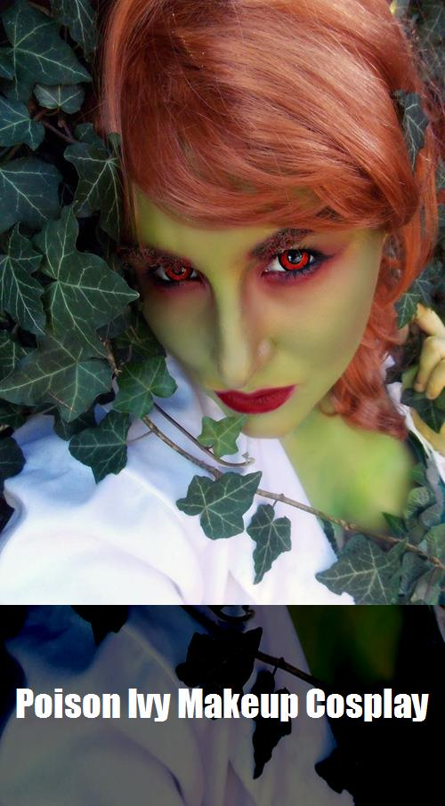 Poison Ivy Makeup Cosplay