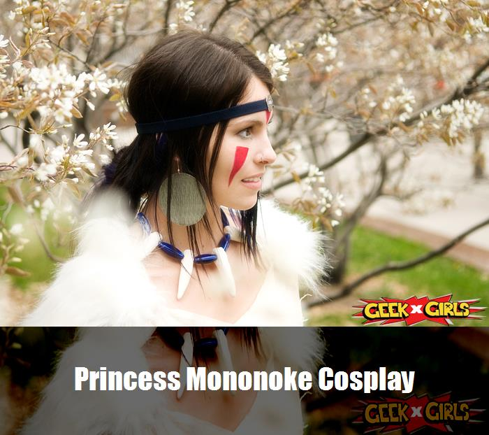 Princess Mononoke Cosplay 2