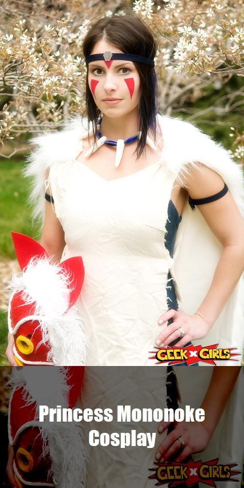 Princess Mononoke Cosplay 3