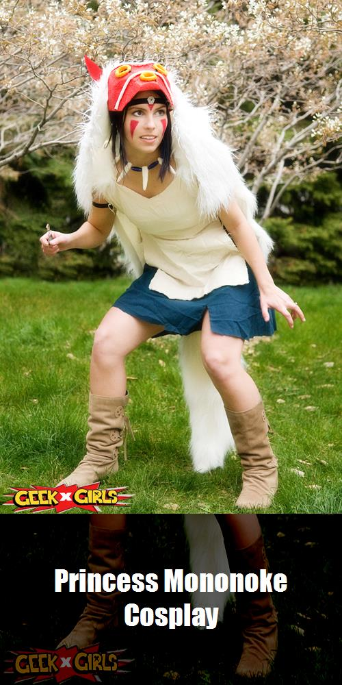 Princess Mononoke Cosplay 4