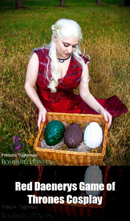 Red Daenerys Game Of Thrones Cosplay 12