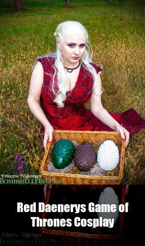 Red Daenerys Game Of Thrones Cosplay 13