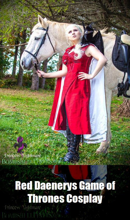 Red Daenerys Game Of Thrones Cosplay 8