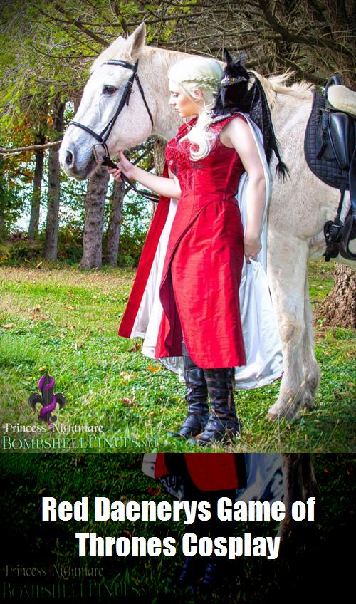 Red Daenerys Game Of Thrones Cosplay 9