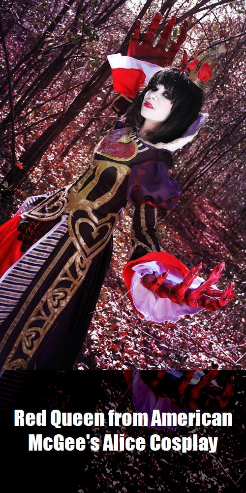 Red Queen From American Mcgees Alice Cosplay