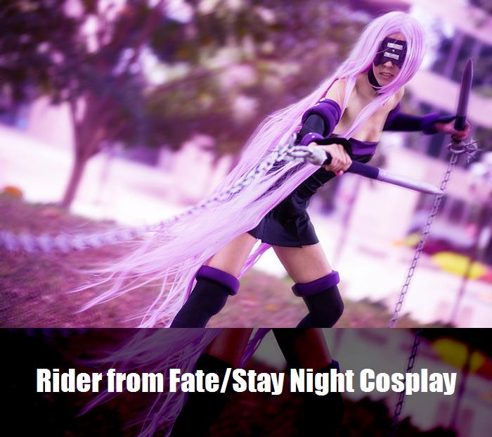 Rider From Fatestay Night Cosplay 1