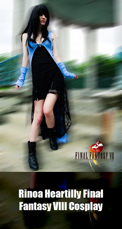 Rinoa Heartilly Final Fantasy Viii Cosplay 2