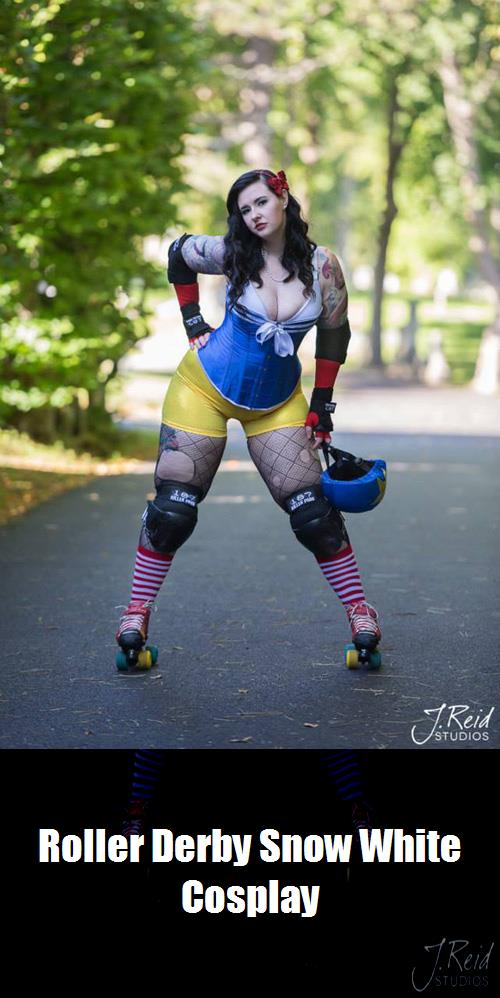 Roller Derby Snow White Cosplay 1