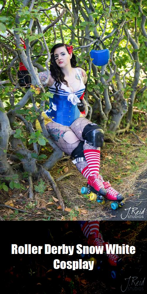 Roller Derby Snow White Cosplay 4
