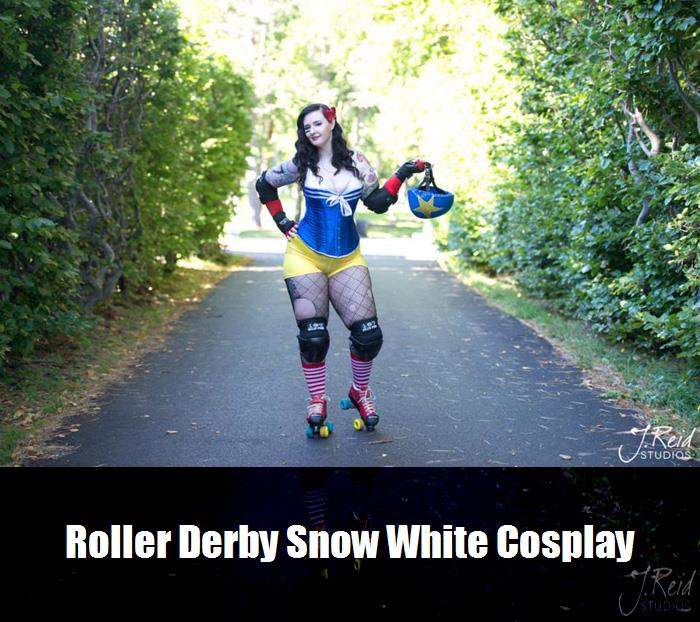 Roller Derby Snow White Cosplay 5