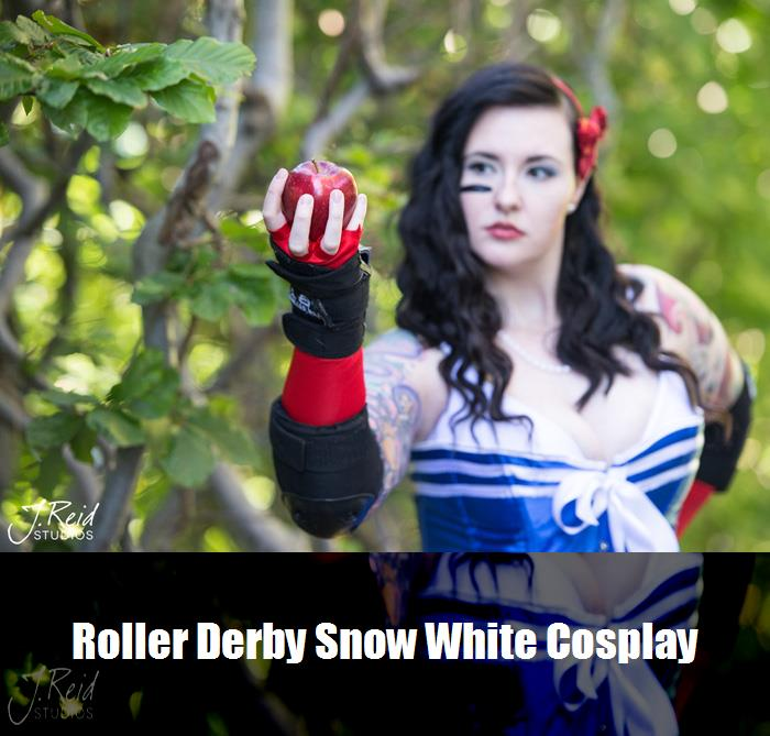 Roller Derby Snow White Cosplay 6