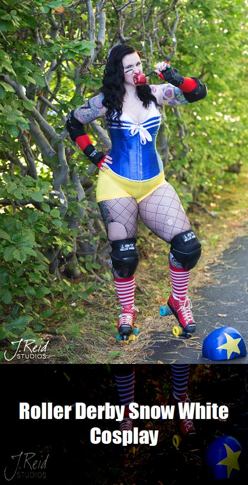 Roller Derby Snow White Cosplay 9