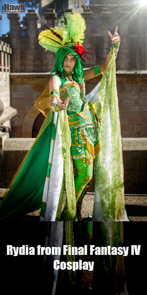 Rydia From Final Fantasy Iv Cosplay