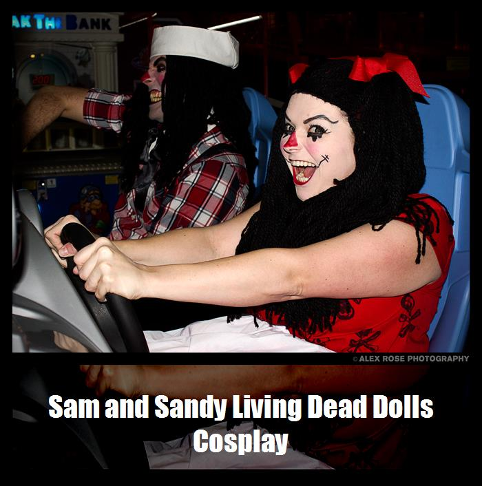 Sam And Sandy Living Dead Dolls Cosplay