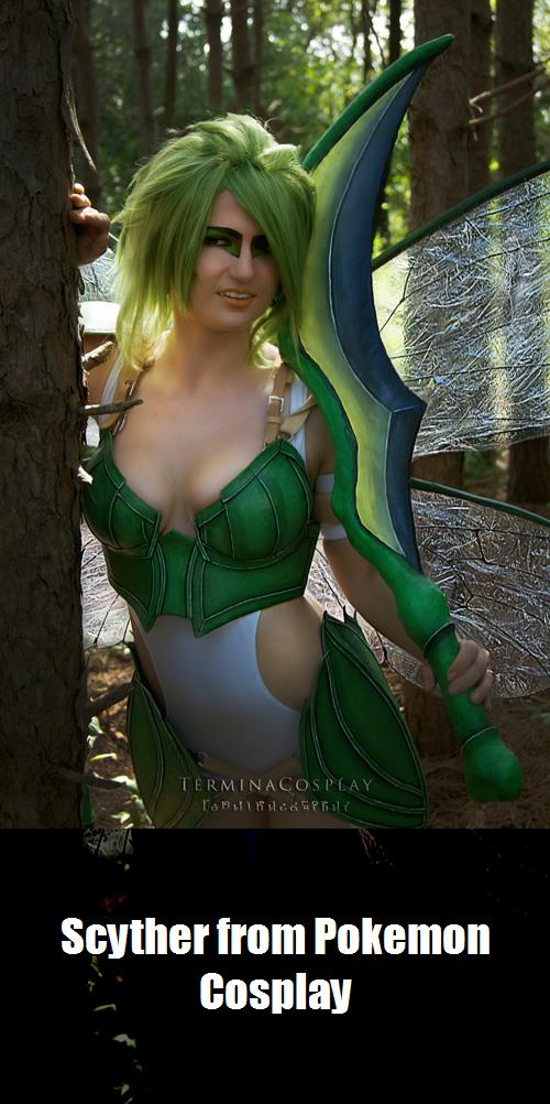 Scyther From Pokemon Cosplay 2