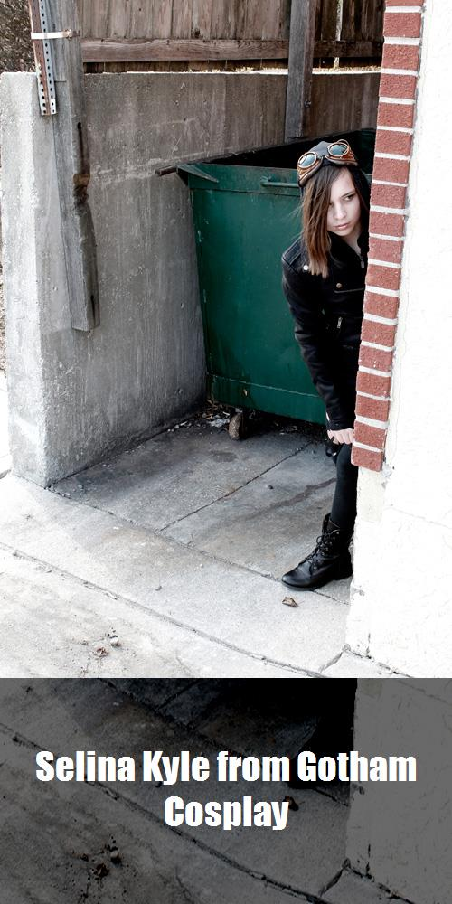 Selina Kyle From Gotham Cosplay