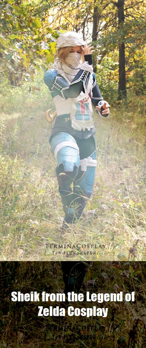 Sheik From The Legend Of Zelda Cosplay 4