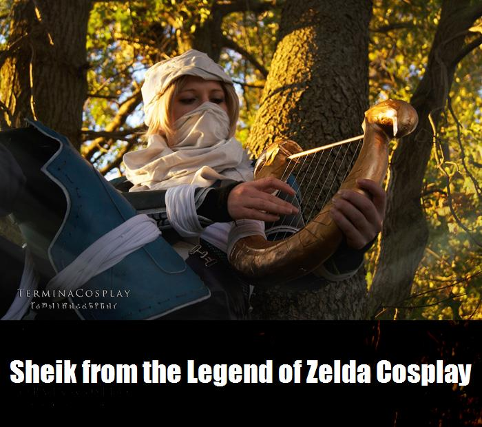 Sheik From The Legend Of Zelda Cosplay 6