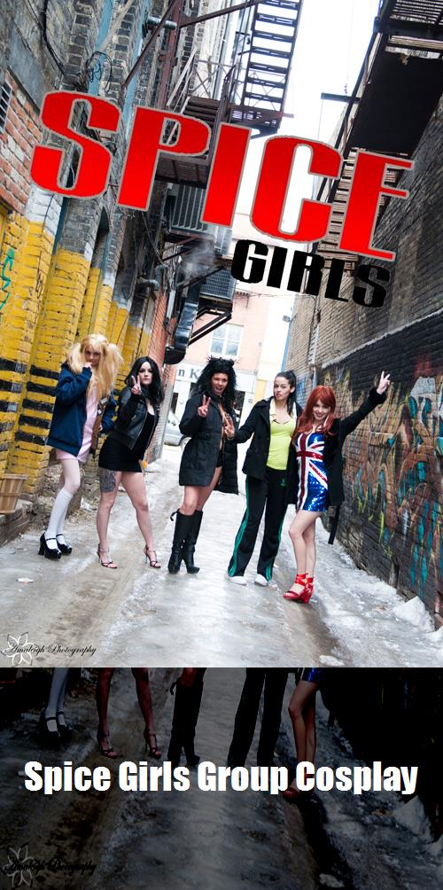 Spice Girls Group Cosplay